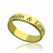 Gravierter Ring