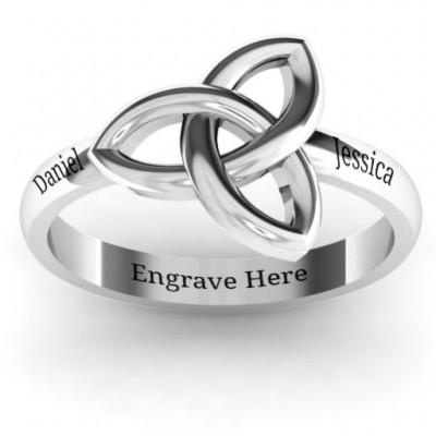 Sinéad keltischer Knoten Ring
