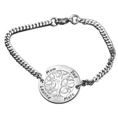 Personalisierte NN Vertikale Silber Armband / Fußkettchen