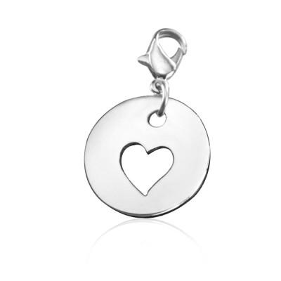 Personalisierte Ausschnitte Herz Charme