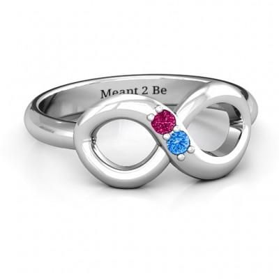 TWOSOME Unendlichkeit Ring