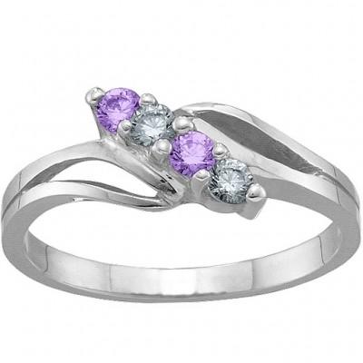 2 7 Steine Ring