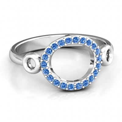 Accented Karma Ring