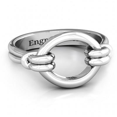 Klassische Karma Ring
