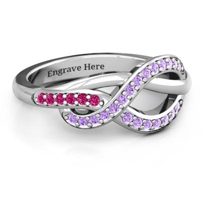 Delikat Infinity Ring