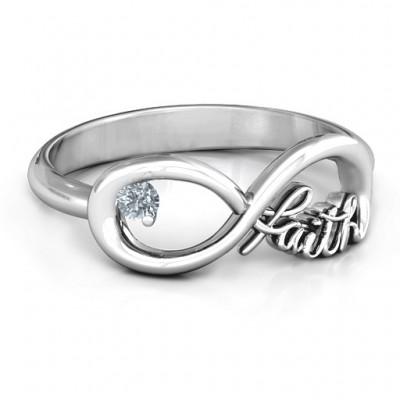 Glauben Unendlichkeit Ring
