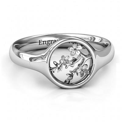 Full Circle Kirschblüten Ring