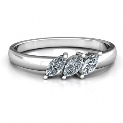 Grand Marquise Trio Ring