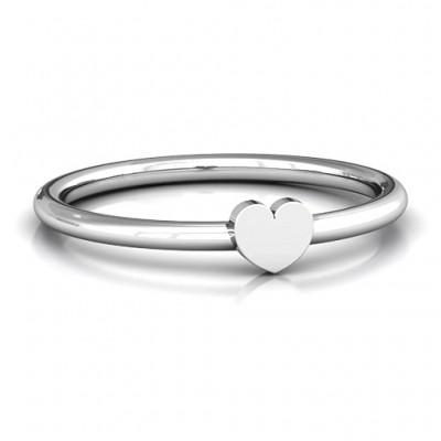 Herz Stackr Ring
