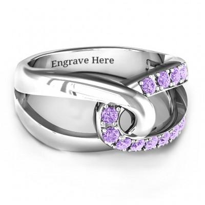 Infinity Umarmungs Ring