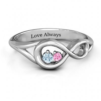 Infinity Love Nest Ring