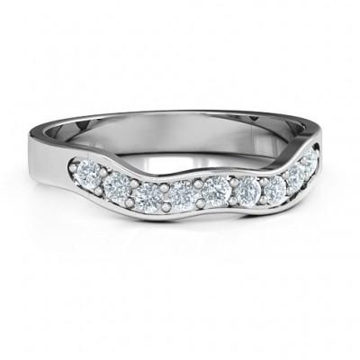 Jasmin Band Ring