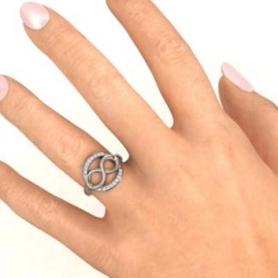 Karma of Love Infinity Ring