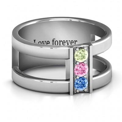 Schichten Liebes Ring