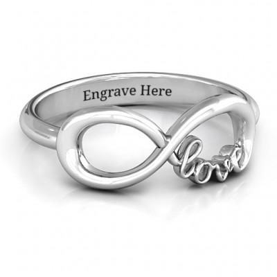 Liebe Unendlichkeit Ring
