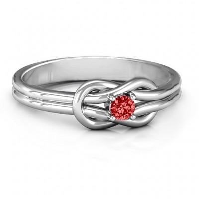Liebes Knoten Ring