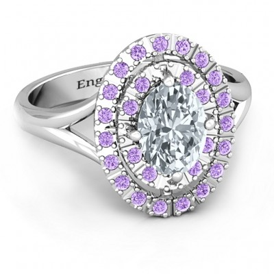 Margaret Doppel Halo Ring
