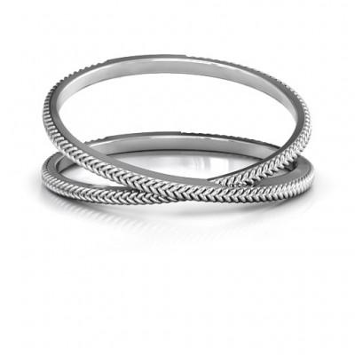 Moderne Crossover Ring