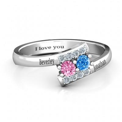 Must Be Love Zwei Stein Ring