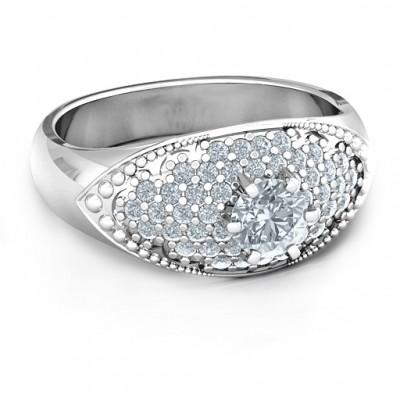 Gepflastert in Love Ring