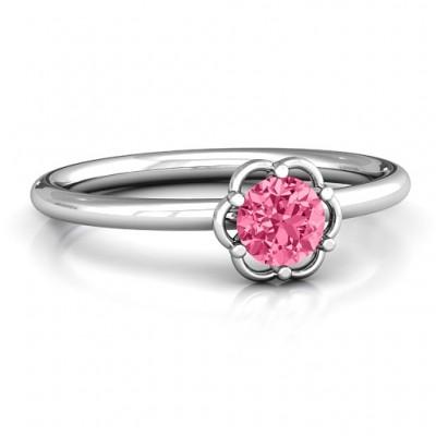 Scarlet Blumen Ring