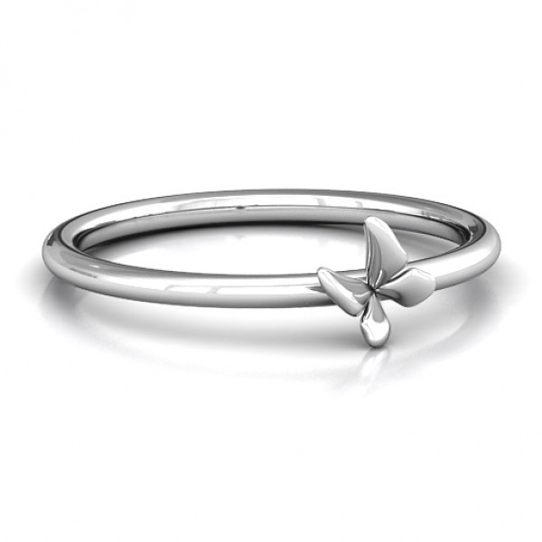 Stackr Soaring Butterfly Ring