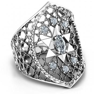 Davidstern Lattice Ring