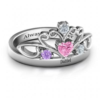 Tale Of True Love Tiara Ring