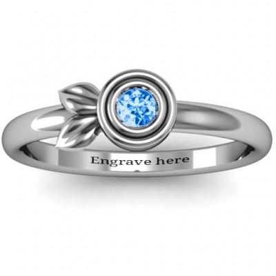 Twin Blatt Ring