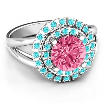 Victoria Doppel Halo Ring