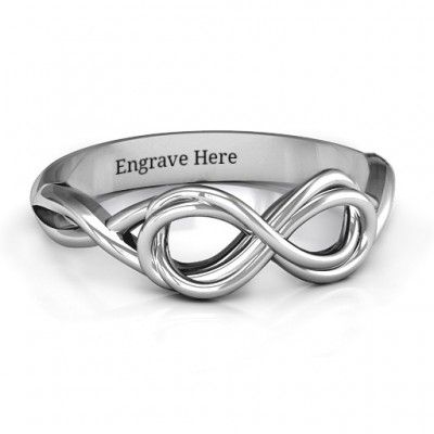 Wired for Love Infinity Ring