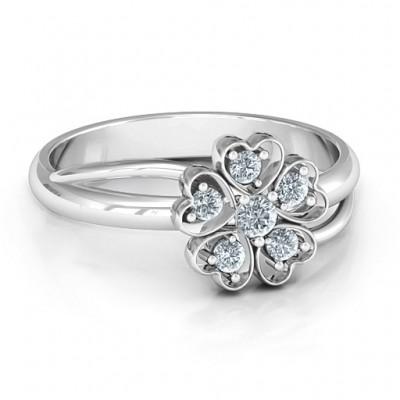 Mit Liebe und Blumen Ring