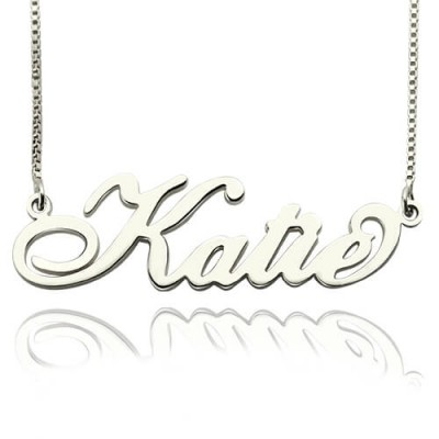 Bedingungslose Halskette Carrie Stering Silber