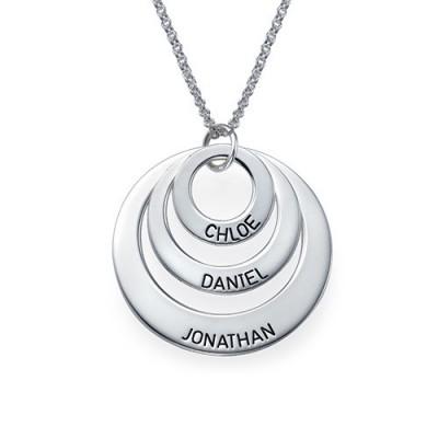 Schmuck für Mamas Drei Disc Halskette