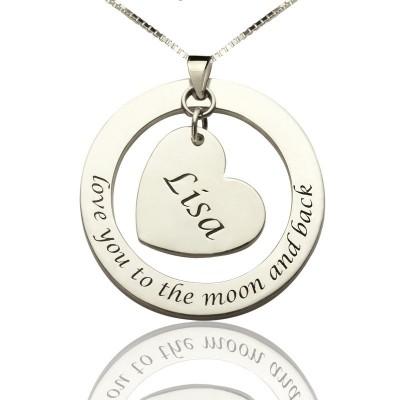 Liebe Sie Herz Halskette für Frauen