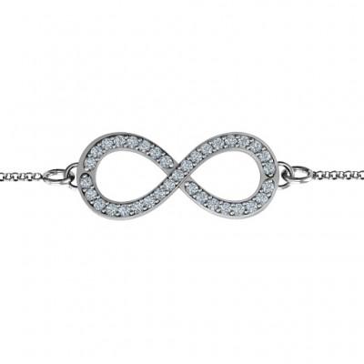 Personalisierte Betont Infinity Armband