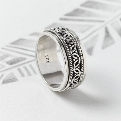 Celtic Spinning Ring