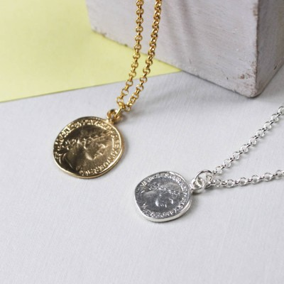 Münze Halskette