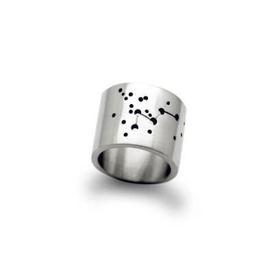 Personalisierte Weit Constellation Ring