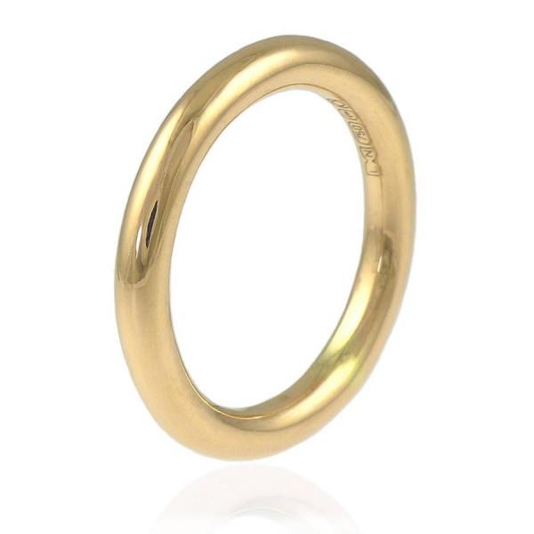Halo Ehering in 18 karätigem Gold