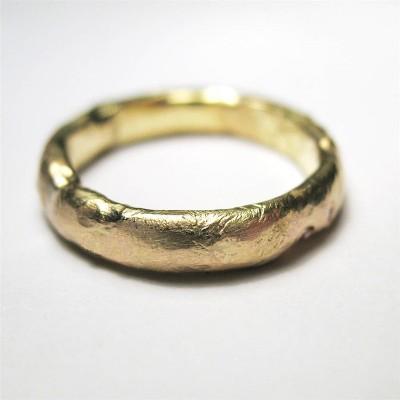 18ct Gold Organisch Ring