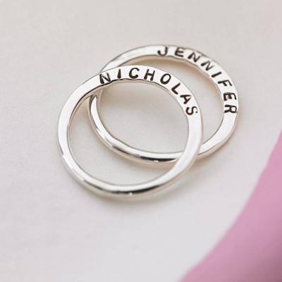 Personalisierte Verse Ring