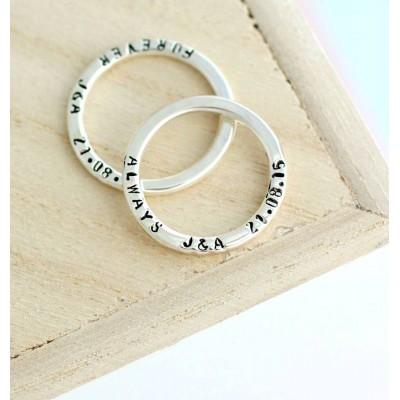 Personalisierte Nachricht Ring