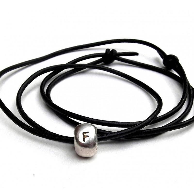 Personalisierte Silber Nugget Halskette 86f7b06f59