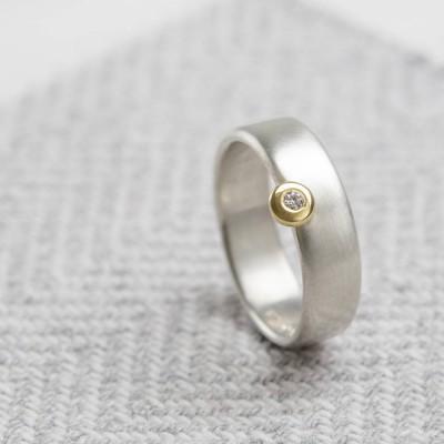Schlank Offset Ring